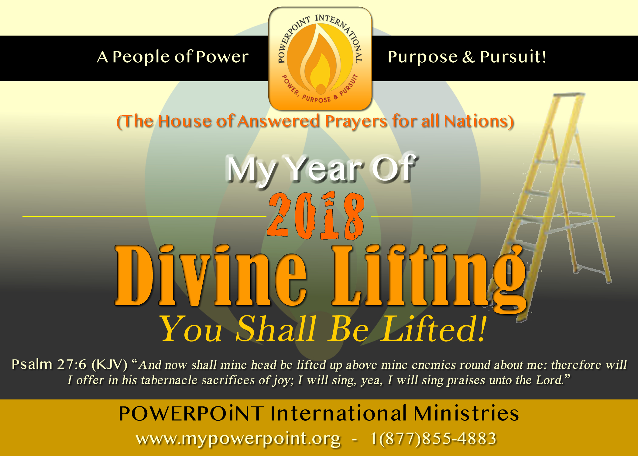 2018 The Year of Divine Lifiting for All