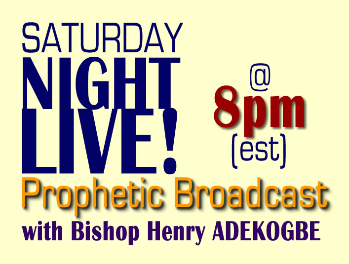 SATURDAY NIGHT LIVE BROADCAST - SAT @ 8PM